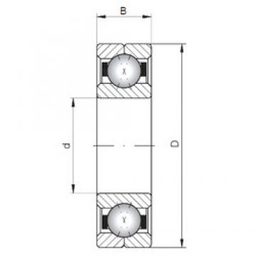 ISO Q236 angular contact ball bearings