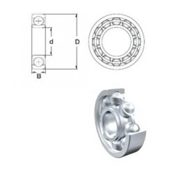 130 mm x 180 mm x 24 mm  ZEN 61926 deep groove ball bearings