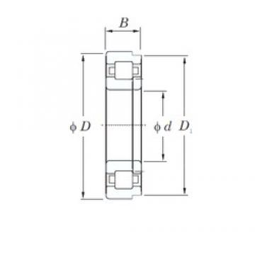 45 mm x 100 mm x 36 mm  KOYO NUP2309 cylindrical roller bearings