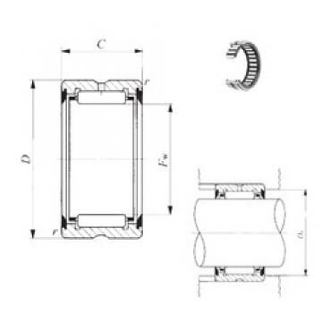 IKO RNA 6904UU needle roller bearings